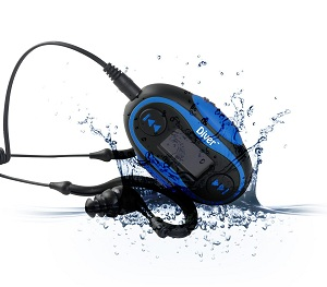 Diver Waterproof MP3 Player Review