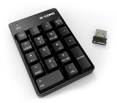 G-Cord Wireless Numeric Keypad Review