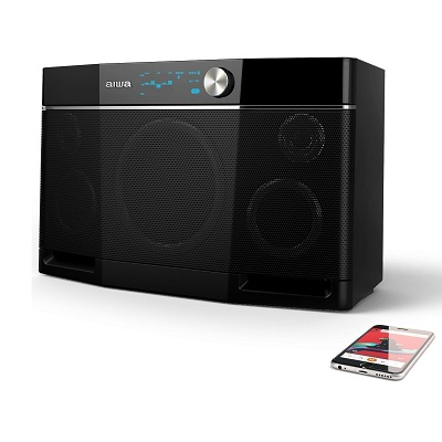 Aiwa Exos-9 Bluetooth SpeakerView On Amazon