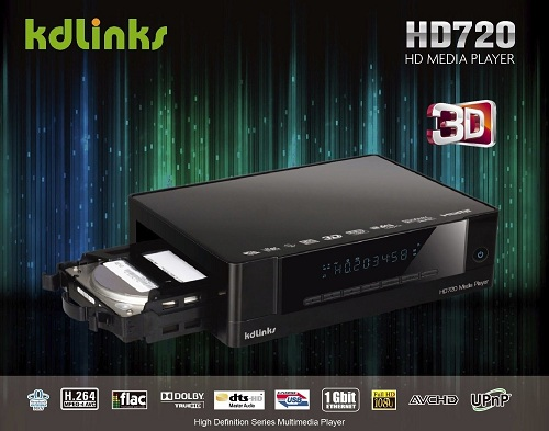 KDLINKS HD720 Media Player<>b>Click Here for Reviews, Ratings & Specifications at Amazon