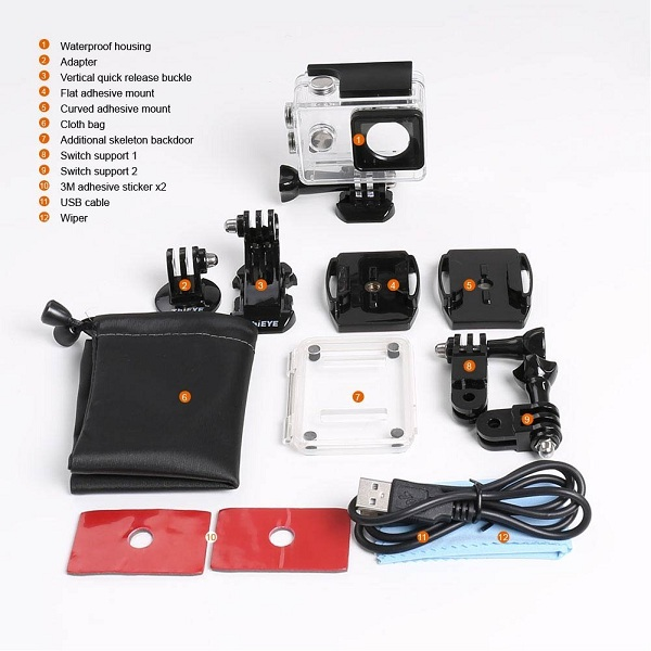 ThiEYE i60 Action Camera Box