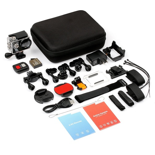 Fitfort action camera review accessories