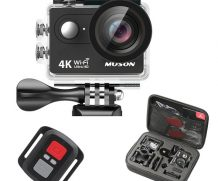 Muson 4K WIFI Action Camera Review