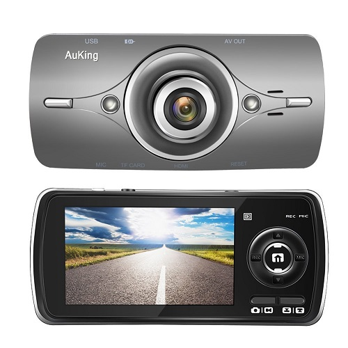 AuKing Dash Cam Full HD 1080P