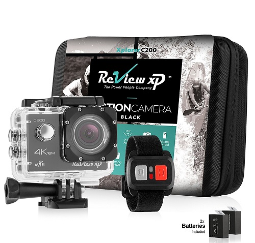 Review XP C200 Action Camera 4K